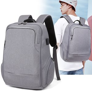 New Computer Both Shoulders Package Travel Waterproof Man Both Shoulders Package Usb Charge Backpack Studente Funzione A Borsa