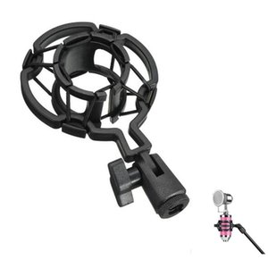 Microphone Clip Microphone Dedicated BM700 BM800 Condenser Wheat Plastic Shock Mount Mobile Phone Karaoke Recording