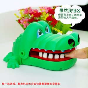 Çocuklar Timsah Isırma Parmak Oyunu Komik Oyuncak Hediye Timsah Ağız Diş Hekimi Oyuncak