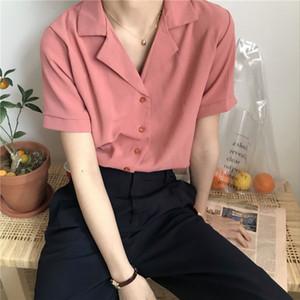 Les femmes Blouses Tops Chemise à manches longues Mode Casual Chemisier Hauts Vêtements Loose Women
