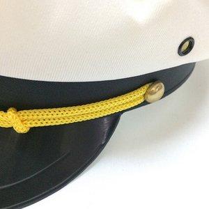 Cappello da marinaio militare Nave Yacht Capitano Hat Navy Marine Admiral oro bianco tetto piano Campo Cap Snapback Caps Casual M840 #