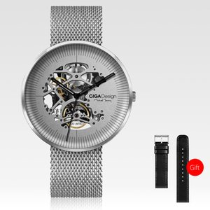 Xiaomi CIGA Design MY Series Men Automatic Mechanical Analog Watch Hollow-out Steel Wrist Watch Business Watch