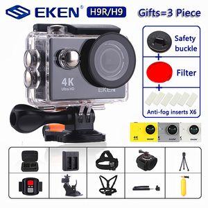 """Original EKEN H9   H9R Action Camera Ultra HD 4K   30fps WiFi 2.0"""" 170D Underwater Camera Waterproof Cam Helmet Camera Sport Cam"""