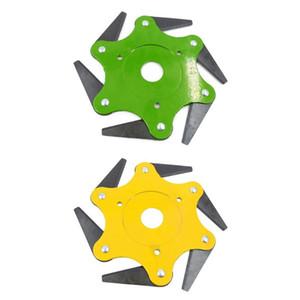 3/4/5 / 6T lame manganèse coupe acier tondeuse à gazon tondeuse à lame manganèse accessoires de machine de jardin de jardin outils électriques de pelouse de jardin