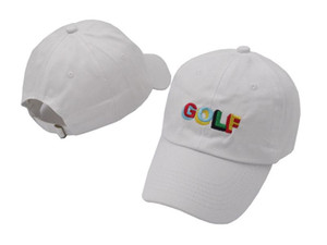 Верхняя часть дизайна Tyler The Creator Golf Hat - черная футболка с изображением папы и кепки Wang Cross Earl Odd Future