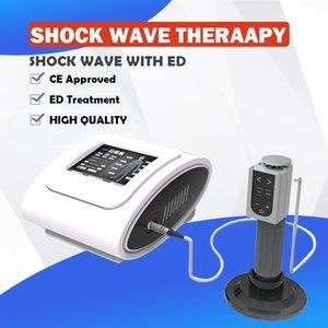 Tragbare Acoustiv Shock Wave Medical Physiotherapie ESWT Stoßwellentherapie Maschine Medizinstoßwellentherapie zur Schmerzbehandlung