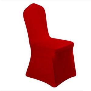 솔리드 컬러 의자 커버 탄성 Slipcovers 의자 커버 주방 웨딩 연회 호텔 RRA363