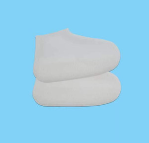 Hot Sale-able silicone rain shoes reusable waterproof shoe cover and antiskid new silicone rain boots