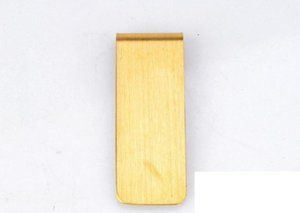 Stainless Steel Brass Money Clipper Slim Money Wallet Clip Clamp Card Holder Credit Name Card Holder From The Seller