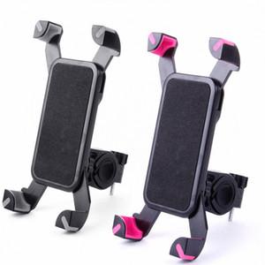sostenedor del soporte de la seguridad en bicicleta teléfono celular de 6.5 pulgadas para la motocicleta de la bicicleta