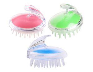Elitzia ETHSF12 Plastic Head Silicone massageador cabelo pentear o cabelo massagem no couro cabeludo escova Shampoo Escova 3 cores opcionais