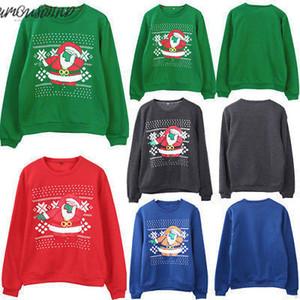 Fashion-Sweaters Weihnachten Ugly Christmas Sweater Paar Passende Winterkleidung Unisex Outfits Für Liebhaber Frauen Männer Herbst Neu