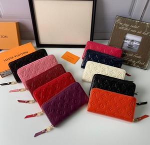 Uzun Stil Kasetli Tırnaklı Debriyaj Kadın Patent Deri Karma Renk Rivets çanta Spikes bulunan kavramalar Lady Uzun Cüzdanlar