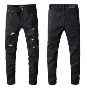2020 designer jeans hommes d'été De Mode stretch Slim droite jeans denim tendance hommes de casual Pantalon en gros