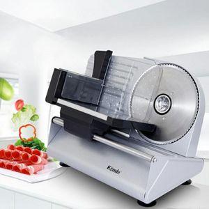 MS-305C Электрический Slicer Многофункциональный Мясо Slicer Полуавтоматическая Бытовая Desktop Lamb Нарежьте овощи Хлеб Ham Замороженное мясо