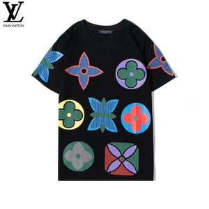 New Sprint Summer T-shirts Hommes Femmes T-shirts de mode de luxe de T-shirt des hommes Streetwear hip-hop T-shirt coton TAILLE de-2XL