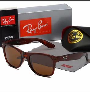 Caldo di alto QualityAviatorRayBan occhiali da sole di marca Pilot Vintage Banda protezione UV400 delle donne degli uomini di Ben Wayfarer Occhiali con la scatola