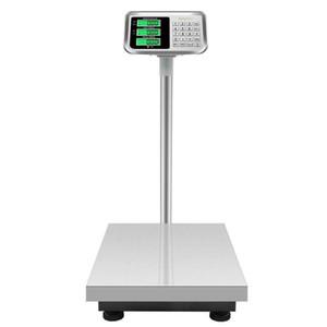 300 kg 660lb Plate-forme numérique étage LCD Balance électronique pour Super Market Postal