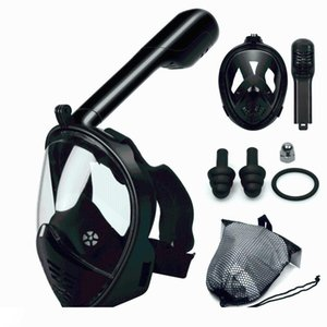 2018 Hot Diving Mask Scuba Mask Underwater Anti Fog Full Face Snorkeling Women Men Kids Swimming Snorkel Diving Equipment
