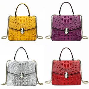 Designer Leopard Bags Rivet Leopard Print Geometric Bag Crossbody Bags Leather Crocodile Shoulder Bag Clutch For Women#444