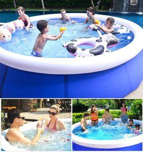 풍선 수영 패들링 풀 마당 정원 가족 아이들은 큰 성인 유아 풍선 수영장 아동 오션 풀 플러스 플레이