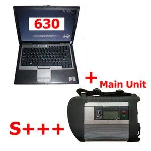 S +++ quanlity pleine Chip PCB V2018.09 MB Star C4 Unité principale + D630 Ordinateur portable