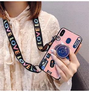 Custodia per fotocamera retrò stile ragazza con custodia multifunzionale per telefono a tracolla design cavalletto per iPhone XR XS X 7 8 Plus