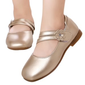 ZHDAOR W # Dancing Shoes singolo principessa Party 4 2019 Fashion Casual bambino cuoio della ragazza di fiore del bambino del capretto del sandalo trasporto libero caldo
