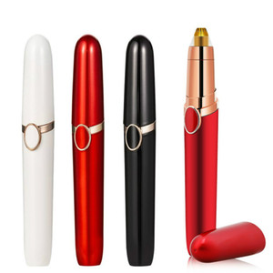 2020 New Electric Eyebrow Trimmer Women Face Razor Eyebrow Epilator Shaver Painless Fast Eye Brow Trimmer Lipstick Portable Hairs Shaver
