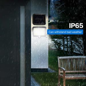 Датчик BRELONG солнечной COB Настенный светильник Split Body 120LEDs Двор Дом Открытый Сад Villa 1 шт