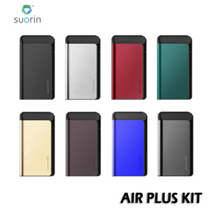 Suorin Air Plus 22W Pod System Kit With 3.2ml Air Plus Cartridge 0.7ohm Coil & Built-in 930mAh Oil Baffle Design 100% Authentic