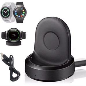 USB 케이블 소매 포장을 가진 Samsung 장치 S4 S3 S2 스포츠 시계를위한 난방 무선 위탁 선창 요람 충전기 없음