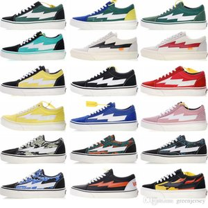 2019 New Revenge x Storm Old Skool Skateboarding black Sneakers Trending Casual Trainers for Men Women Durable Outdoor Sport Shoes