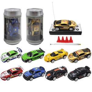 8 ألوان هوت مبيعات 20KM / ساعة يمكن للفحم الكوك البسيطة RC راديو السيارة عن بعد مايكرو تحكم سيارة سباق 4 ترددات لعبة للأطفال نماذج هدايا RC
