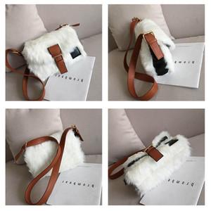 Designer-heißen Verkauf-neue Winter-Crossbodybag Frauen sacken Luxus Frauen Handtaschen-Geldbeutel-Entwerfer-Marken-Damen-Pelz-Schulter-Kurier-Taschen