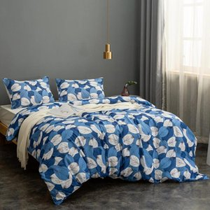 Fashion comforter bedding set 2 3PCS Plant printing Bed linen bed set duvet cover Quilt Cover Pillow cases Home Textile
