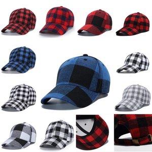 منقوشة قبعة البيسبول 11 الألوان Bufflao تم فحصه للجنسين سنببك كاب القطن الهيب هوب قابل للتعديل القبعات 20PCS OOA7455-3