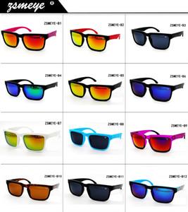 ZSMEYE marque 12 couleurs mode chaud ventes en gros carré espionné hommes et femmes oculos ken bloc casque 43 lunettes de soleil en miroir de sol UV400