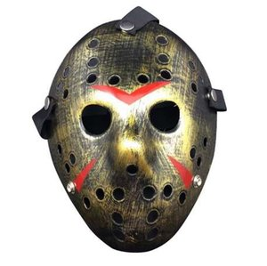Masques PVC Halloween Vintage Party Cosplay Masques Jason Freddy Hockey Masque Délicat Épais Costume Mascarade Masque