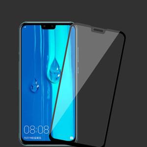 протектор экрана для Huawei Y7 Y9 и 2019 премьер-министр изгиб умеренного стекла для защиты пленки щит