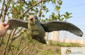 Faucon de vol d'oiseau Scare Decoy Pest Control Garden Care Deter Scarer gros QUAN MIAO
