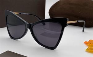 Novo designer de moda óculos de sol 767 placa encantadora cat quadro olho qualidade encantador estilo top resistentes aos UV 400 óculos