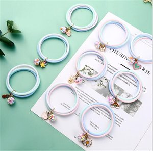 New Cute Bracelet Natural Plant essential oil anti mosquito Repellent Bracelet silicone anti mosquito ring by dhl