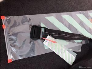 Mode marque noire lettres imprimées ceinture de toile Sangle longues Jeans Ceintures femme Homme Ceinture ceinture de ruban Ceinture en toile Hip hop