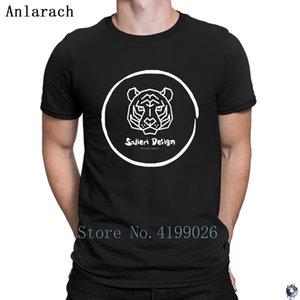 Blanco Salieri diseñador camiseta del lema Gran más tamaño camiseta para los hombres ropa de verano Patrón HipHop Anlarach