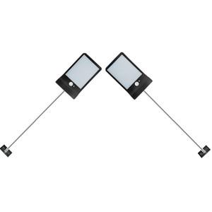 palo di alluminio 36 lampada solare senza fili LED di sicurezza impermeabile luce solare Tre modalità di illuminazione esterna per la Camera di Wall Street Yard