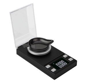 10g / 20g / 50g / 100g Elektronik Teraziler 0.001 LCD Dijital Ölçeği Takı Şifalı Otlar Taşınabilir Lab Ağırlık Miligram Ölçeği SN2963