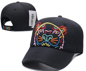 2019 высокое качество мода новый стиль бейсболка Тигр дизайн бейсболки Casquette Sunbank шляпы для мужчин женщин кости роскошные шляпы бесплатная доставка