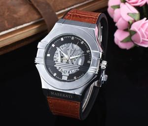2019 conjunto trado moda de lazer novo luxo esporte maserati relógios homens mulheres moda relógio de quartzo