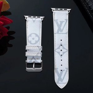 Luxe Apple Suivre Band 38mm 40mm 42mm 44mm Bracelet coloré Designer Fleur réglable Mode iWatch bande pour Apple Watch54321 A10